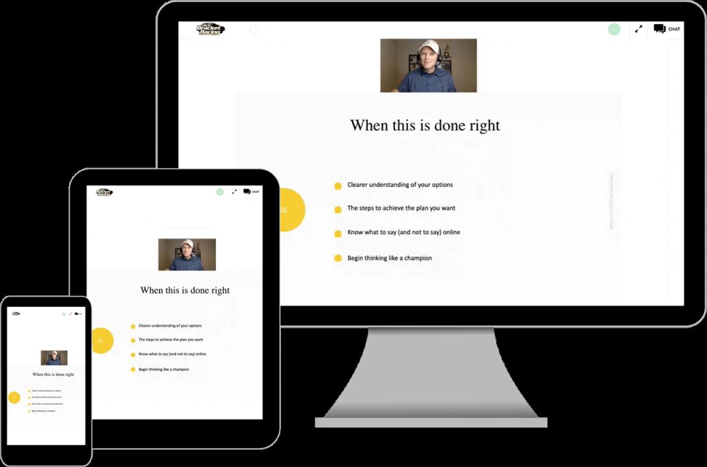 webinar screens